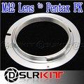 Adaptador de Lente M42 para PK Pentax K10D K20D K100D K200D