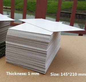 Cardboard-Sheet Paper Backing-Modelling Thick Size-Chipboard White Craft 800GSM 1mm A5