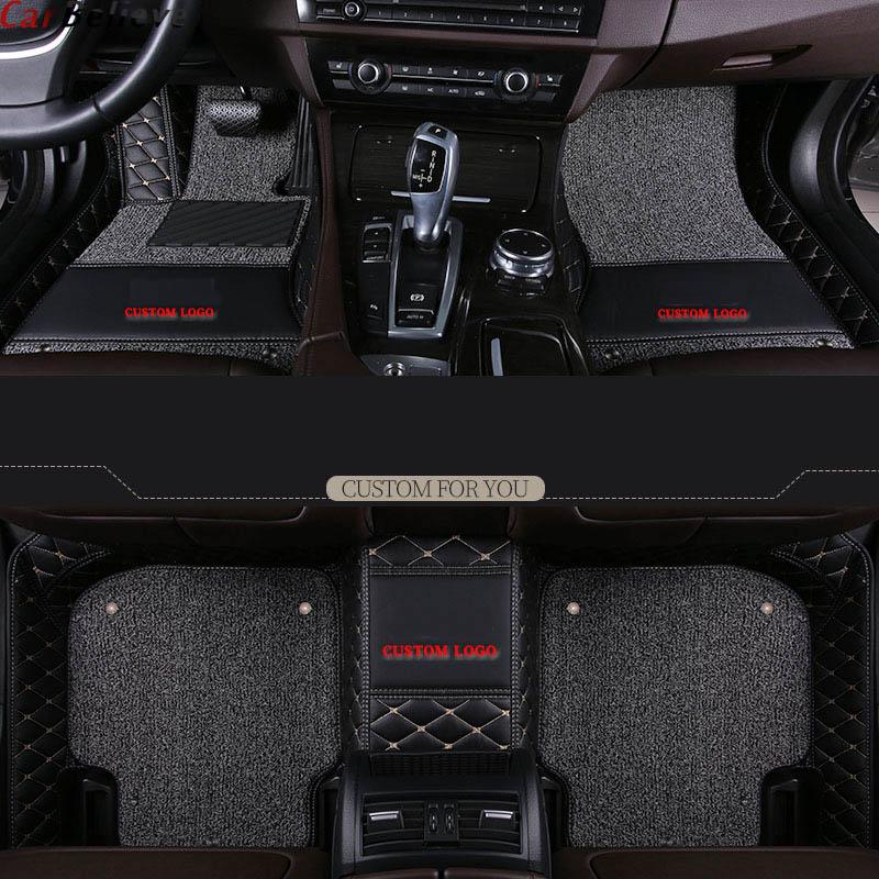 Car Believe car floor mats For toyota prado 120 land cruiser 100 mark x corolla harrier rav4 2018 camry accessories carpet rug in Floor Mats from Automobiles Motorcycles