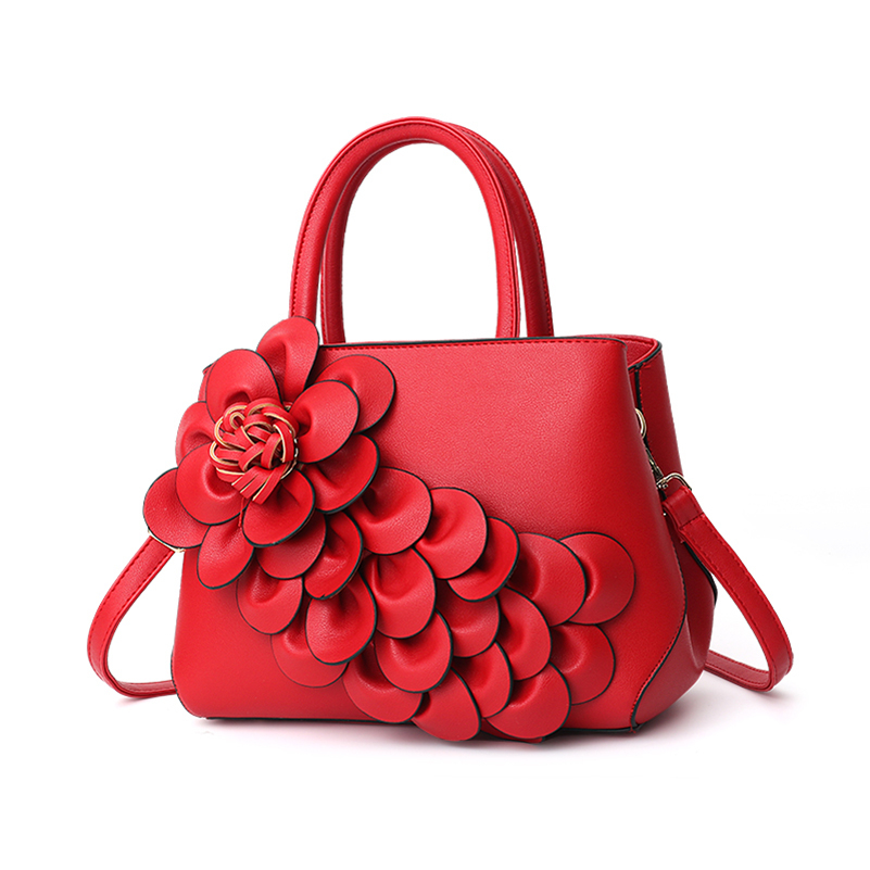 Nevenka Handbag Women Floral Handbags Small Shoulder Bags Leather Crossbody Bag for Women Handbags Purses and Handbags 201807
