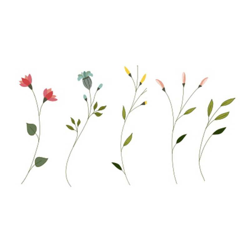 bb5f0430a ... Wyuen Flower Rose Waterproof Temporary Tattoo Sticker for Adults Kids  Body Art Women New Design Water ...