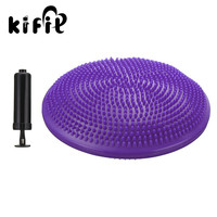 KIFIT Practical Stability Balance Wobble Air Disc Yoga Ankle Knee Exercise Cushion With Pump Health Care