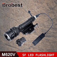 Airsoft Element Surefir M620V Scout Light LED Weapon Light Flashlight Full Version Tactical Flashlight