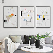 Modern Minimalist Decorative Canvas Paintings Geometry Triangles Line Wall Art For Home Sofa Background Hallway Decoration