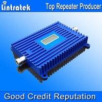 Lintratek новый сотовый телефон Booster 3G umts 850 мГц ЖК-дисплей Дисплей CDMA 850 мГц Booster 70dbi коэффициентом усиления GSM репитер 850 мГц цена оптовой продажи @
