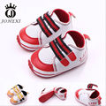 2017 High Quality Fashion Anti-Skid Velcro Baby Girl/Boy Artificial PU Super Soft Newborns Toddler Shoes Red/Yellow 11cm-13cm