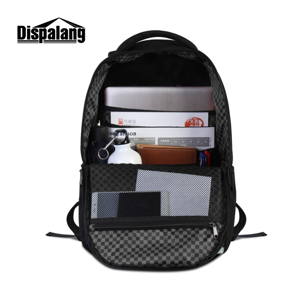 f052a6e53b Dispalang Skull Backpack for College Students Laptop Back pack for Girls  Unique School Bags Shoulder Bookbag Women Traveling Bag-in Backpacks from  Luggage ...