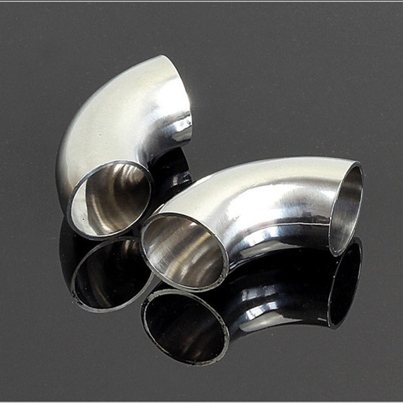 76mm 3 O/D 304 Stainless Steel Sanitary Weld 90 Degree Elbow Pipe Fitting homebew brand new 3 8 female x 3 8 female elbow 90 degree angled stainless steel ss 304 threaded pipe fittings high quality