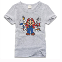 Super Mario cartoon T-Shirt