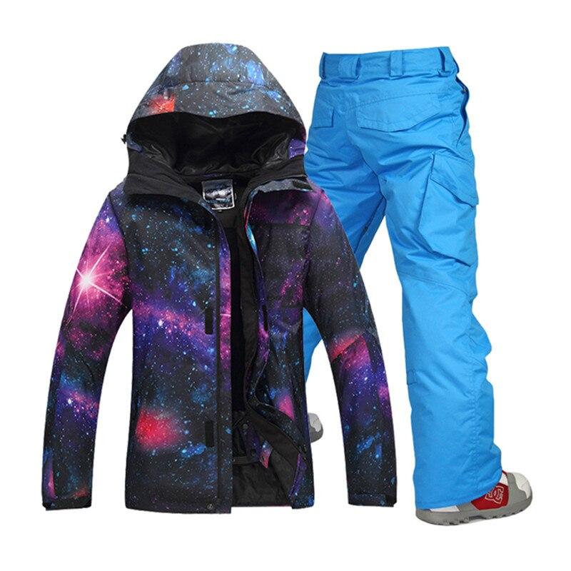 2016 snowboard font b jacket b font winter ski suits for font b men b font