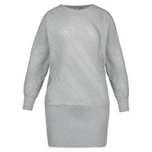 Young17 весеннее платье женские, черный, серый цвета Bodycon модные популярные трикотажные тонкие пикантные Зимние Платье облегающее платье мини