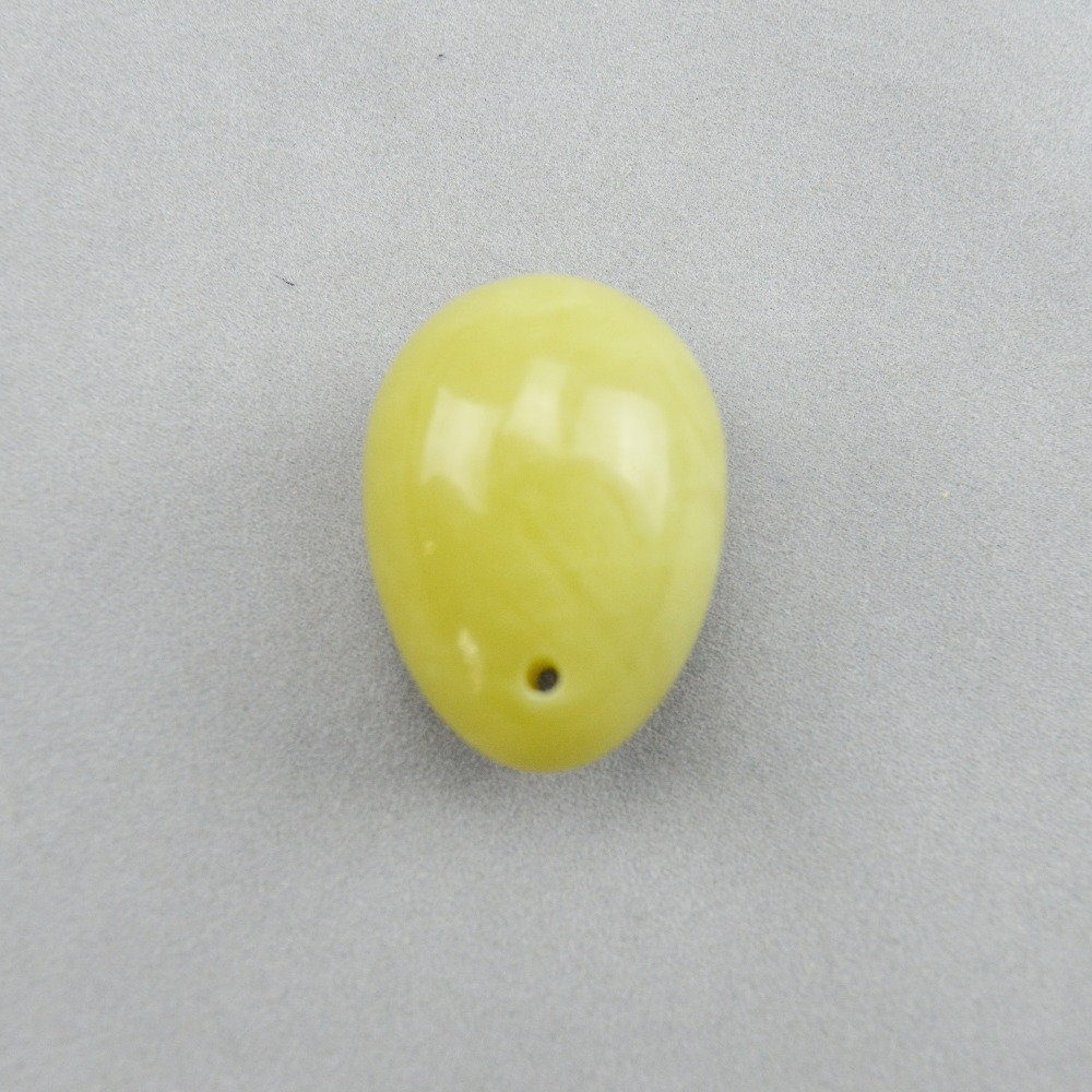3 Pcs 30*20mm Natural jade egg for kegel exercise pelvic floor muscles vaginal exercise yoni egg ben wa ball