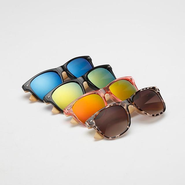 Summer fashion bamboo sunglasses, high quality women's sunglasses to prevent outside glasses Sun Glasses Shades lunette oculo