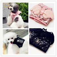 Fashion Small Dog Harness And Leash Angel Dog Collars And Leads Pet Puppy Vest Clothes Brand