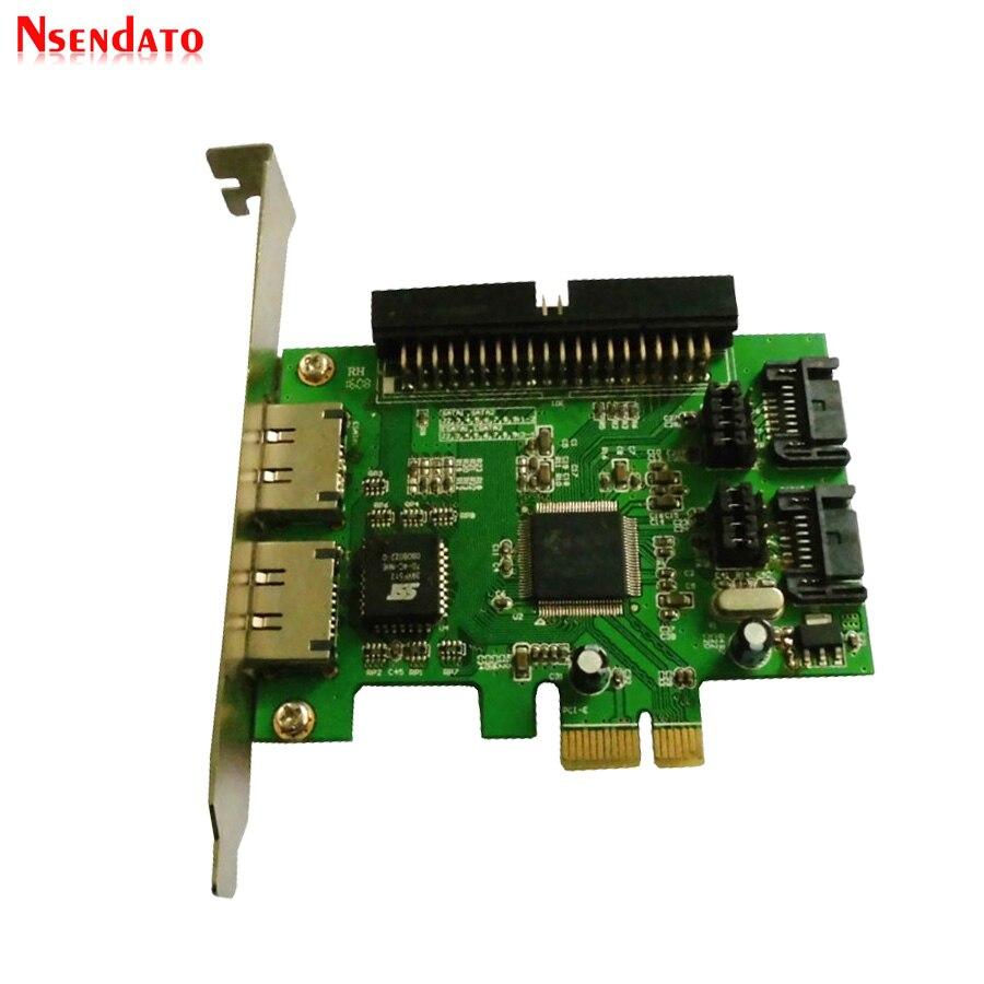 New JMB363 2 Port PCI-E SATA II 2.0 RAID & 1 IDE 3.5