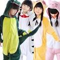 Wholesale Unicorn Stitch Panda Unisex Flannel Hoodie Pajamas Kids Costume Cosplay Animal Onesies Sleepwear For Boy Girl Child