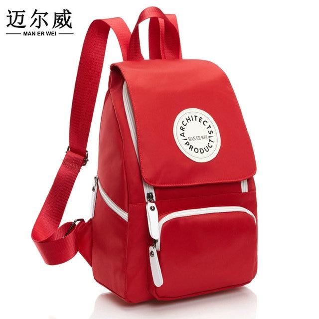 06702f340aa74 رجل إيه وي حقيبة الأطفال المدرسية الظهر حزمة الترفيه الكورية السيدات حقائب  السفر الحقيبة محمول مدرسة