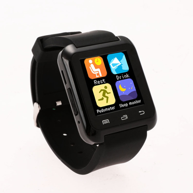 2016 NEW Bluetooth U80 Smart Watch WristWatch Sport For Samsung S4 Note 2