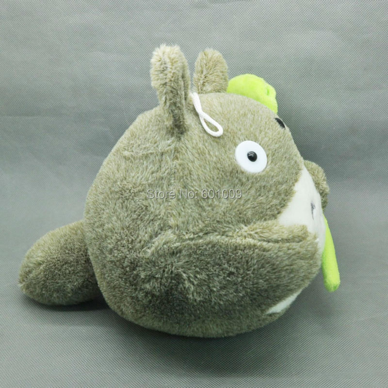"Envío Gratis EMS 30/lote Anime japonés gris mi vecino Totoro muñeco de peluche suave juguete 8""-in Peluches y muñecos de peluche from Juguetes y pasatiempos    3"