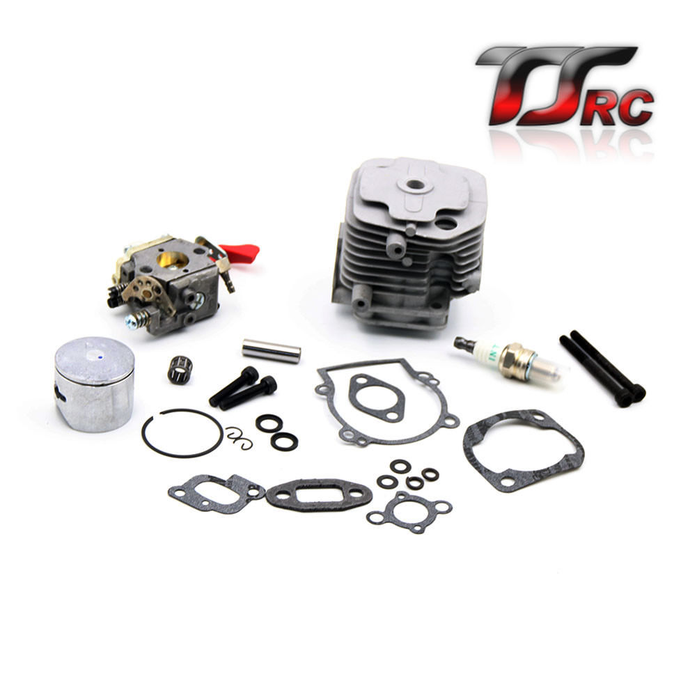 29CC 2 bolt cylinder head kit for 1/5 HPI BAJA 5B 5T 5SC FG Losi 5ive T GoPed scz e290 high powerful 29cc reed engine 9hp for 1 5 scale car baja hpi baja 5b 5t 5sc losi 5ive t mcd