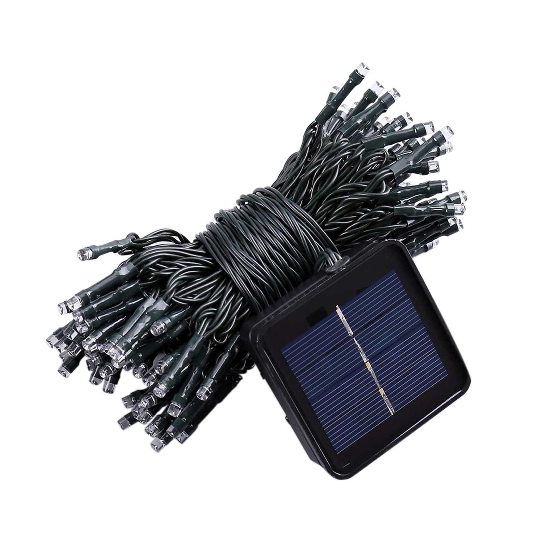 33FT 10 M 50 LED Solar Powered Fairy String Lampu Tahan Air untuk Outdoor Taman Rumah