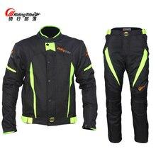 Водонепроницаемые Мотоциклетные Куртки для езды на племя, дышащие штаны для мотокросса, мотоциклетная одежда, брюки на лето и весну, костюмы