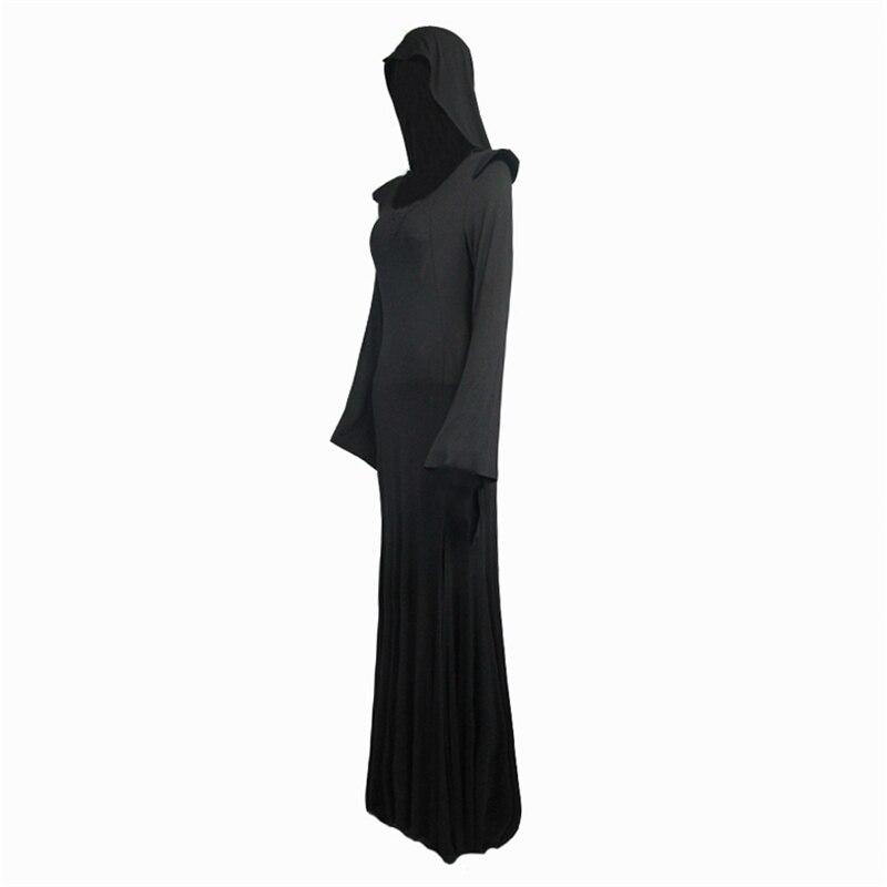 2017 Skt056 Mode Costume À Carburant Conduites Gothique Sexy Halloween Kei Femmes Diable Visual Noir De Robes Steampunk Capuchon SqnxETSZrw