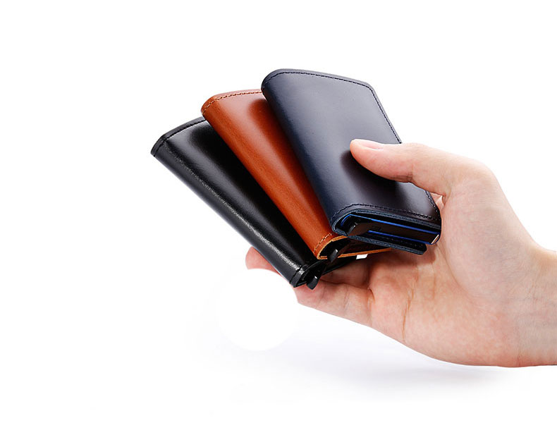 Showing all three wallets