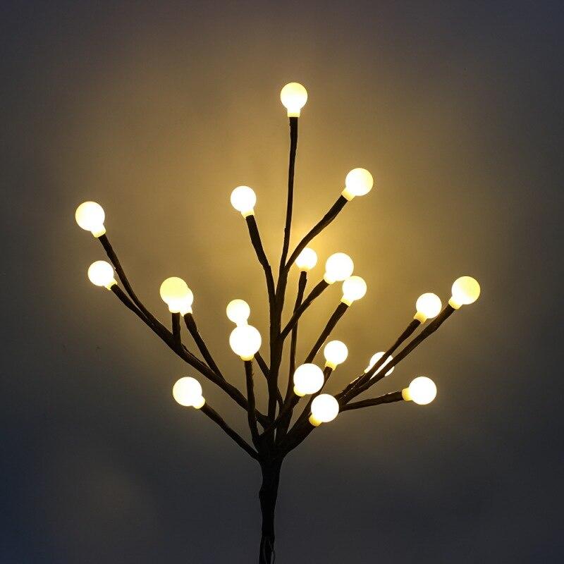 Taman Rumah Led Lampu Hias Pohon Cabang Lampu Warna Warni Fedtival Dekorasi Taman Ruang Tamu Energi Surya Warna Warni Cahaya Lampu Jalan Aliexpress