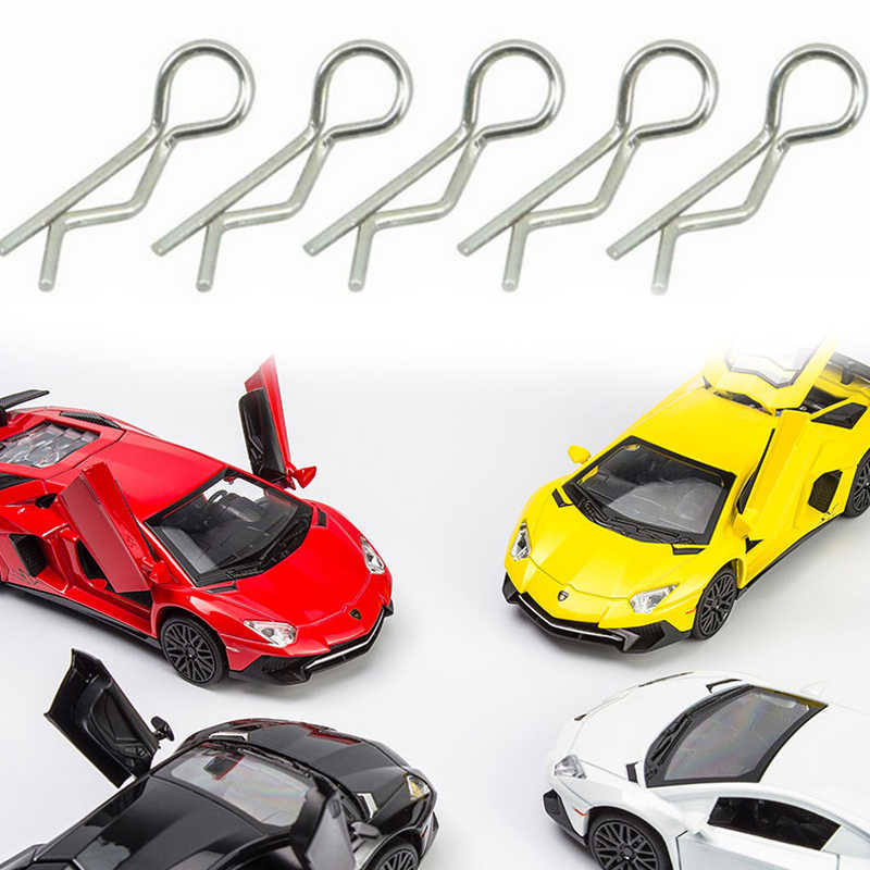 RC Body Shell Clips Metal Pin For 1/10 1/8 Scale Model Car Buggy Truck Spare