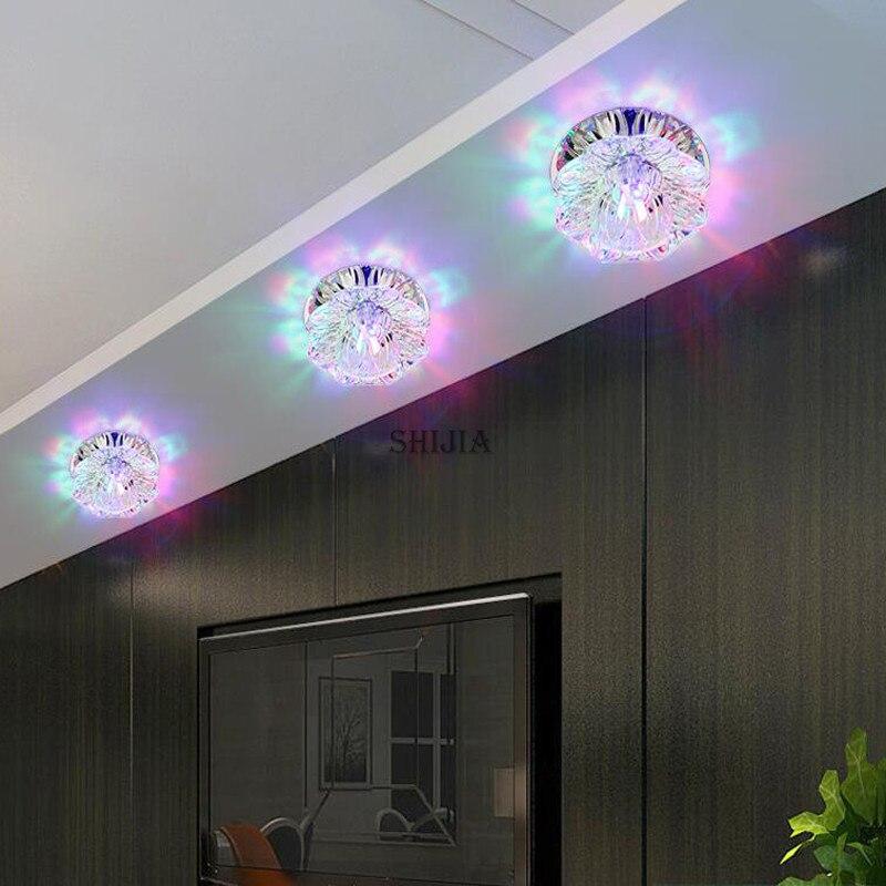 Luzes de Teto montado levou luzes de teto Acabamento : Inoxidável Escovado