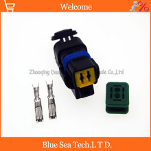 2Pin car female FO Turn light Plug,FO lamp socket,FCI Car Sensor connector for PEUGEOT,Citroen etc.