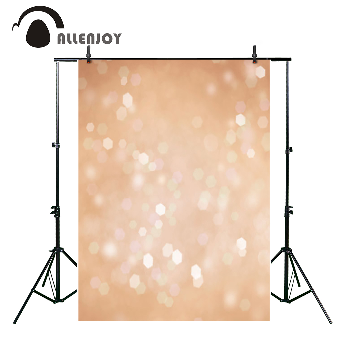 Allenjoy shiny bokeh glitter dots photography backgrounds sequins children baby shower party decoration backdrop photo studio