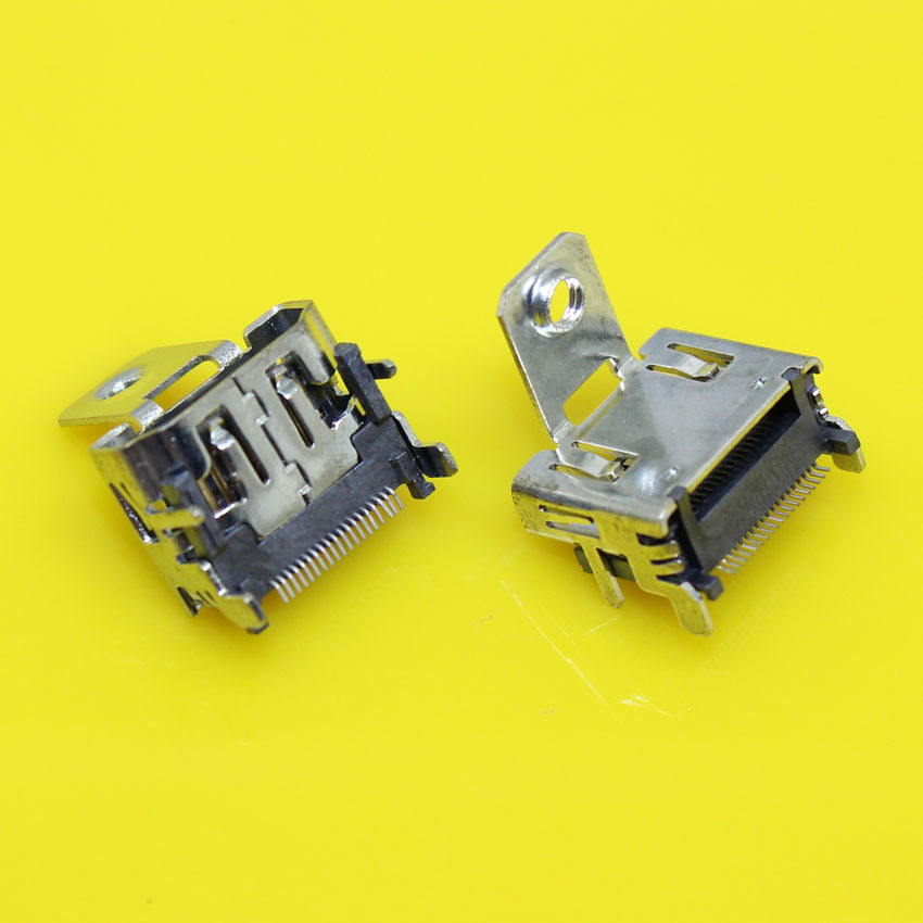 cltgxdd HD-007     19P SMT HDMI female plug socket jack with screw fixed.