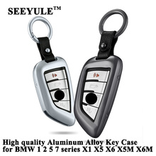 hot deal buy 1pc seeyule styling car key case cover key organizer shell storage bag car accessories for bmw 1 2 5 7 series x1 x5 x6 x5m x6m