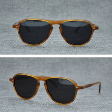 цена на Acetate Vintage Polarized Sunglasses Men Women Brand Designer Retro Sun Glasses Man Woman 2019 New Fashion Sunglass UV400 Oculos