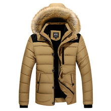 Winter Jacket Men Casual Cotton Thick Warm Coat Men's Outwear Parka Plus Size 4XL Coats Windbreak Snow Military Jackets M0380