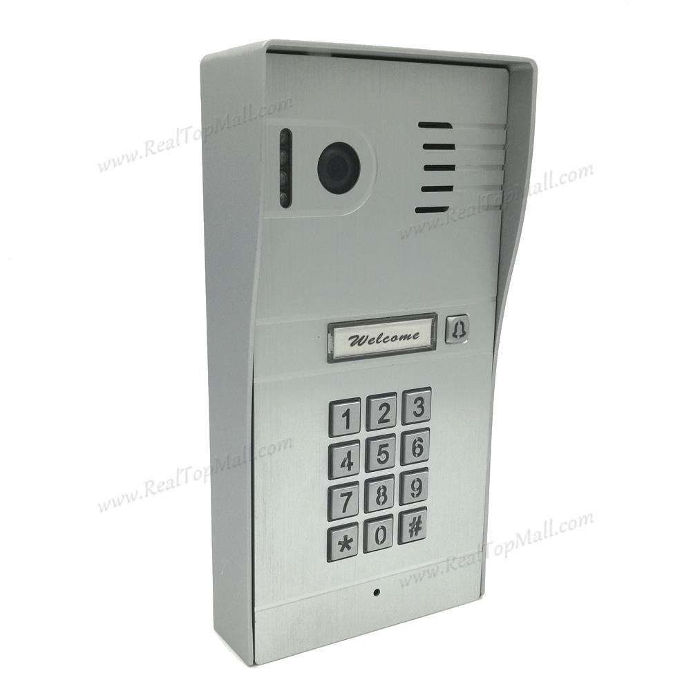 DIY Wireless Video Door Phone Wifi IP Video Door Phone Remote Door Access Unlocking Doors Via IOS/Android Smartphone Tablets