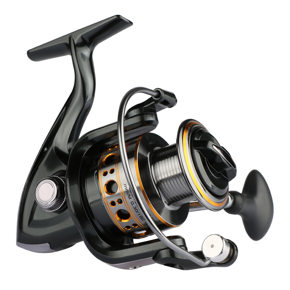 Goture gapless spinning fishing reel for Fishing pole reel