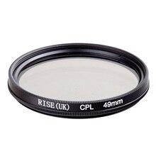 На талии 49 мм CPL Циркулярный поляризационный C-PL фильтр объектива 49 мм для Canon Nikon Sony Olympus Камера