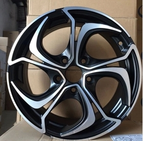 Alloy Black Machine Face 15 Inch 16 Inch Wheels For Kspeed