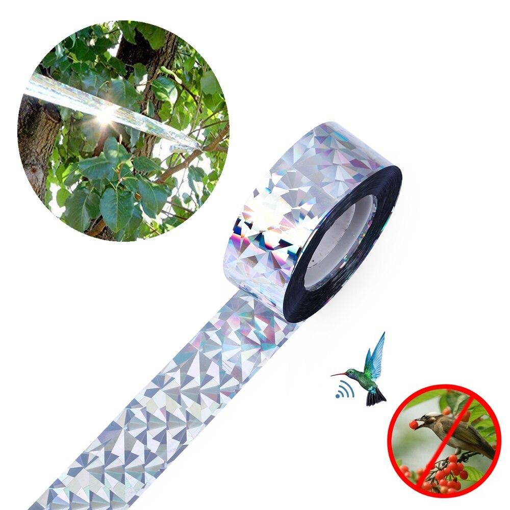 Bird Repellent Tape Bird Scare Tape Audible Repellent Fox Pigeons Repeller Ribbon Deterrent Tapes Anti-Bird Garden Supplies