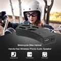 Capacete Da Bicicleta Da motocicleta mãos-livres Sem Fio alto-Falante Estéreo de Áudio Do Telefone
