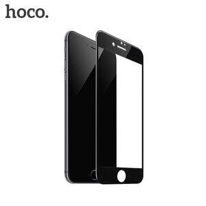 Image 5 - HOCO 애플 아이폰 7 8 플러스 3D 강화 유리 필름 9H 화면 보호기 터치 스크린 보호를위한 보호 전체 커버
