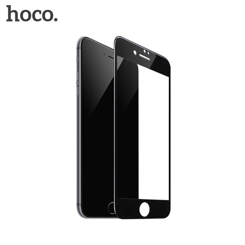HOCO pour Apple iPhone 7 8 PLUS 3D En Verre Trempé Film 9 H Protecteur D'écran De Protection Pleine Couverture pour Écran Tactile Protection