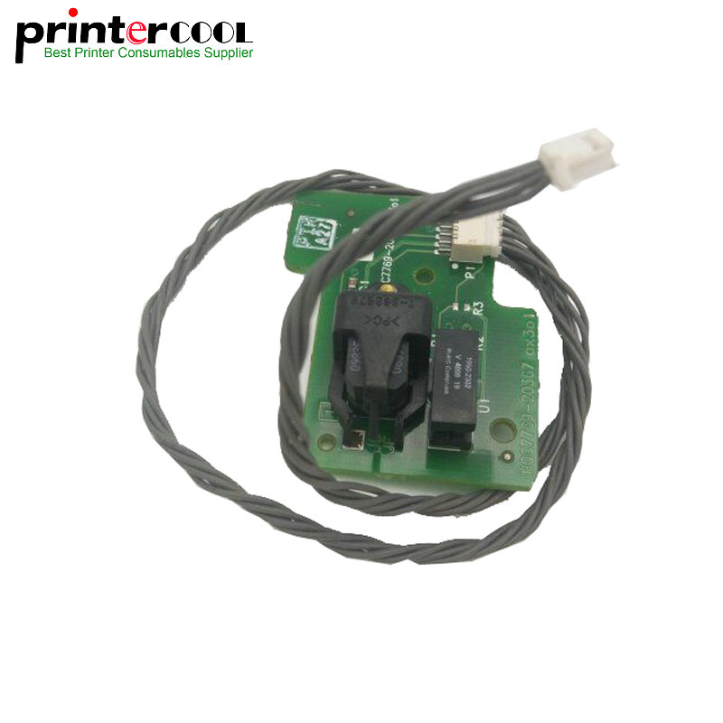 einkshop 1pcs Disk Encoder Sensor Card For HP Designjet 500 510 800 815 820 Plotter C7770-60014 C7769-60384 033 0512 8 encoder disk encoder glass disk used in mfe0020b8se encoder