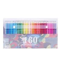 120/160 色専門のオイルカラー鉛筆セットアーティストの絵画スケッチ木の色の鉛筆学校画材