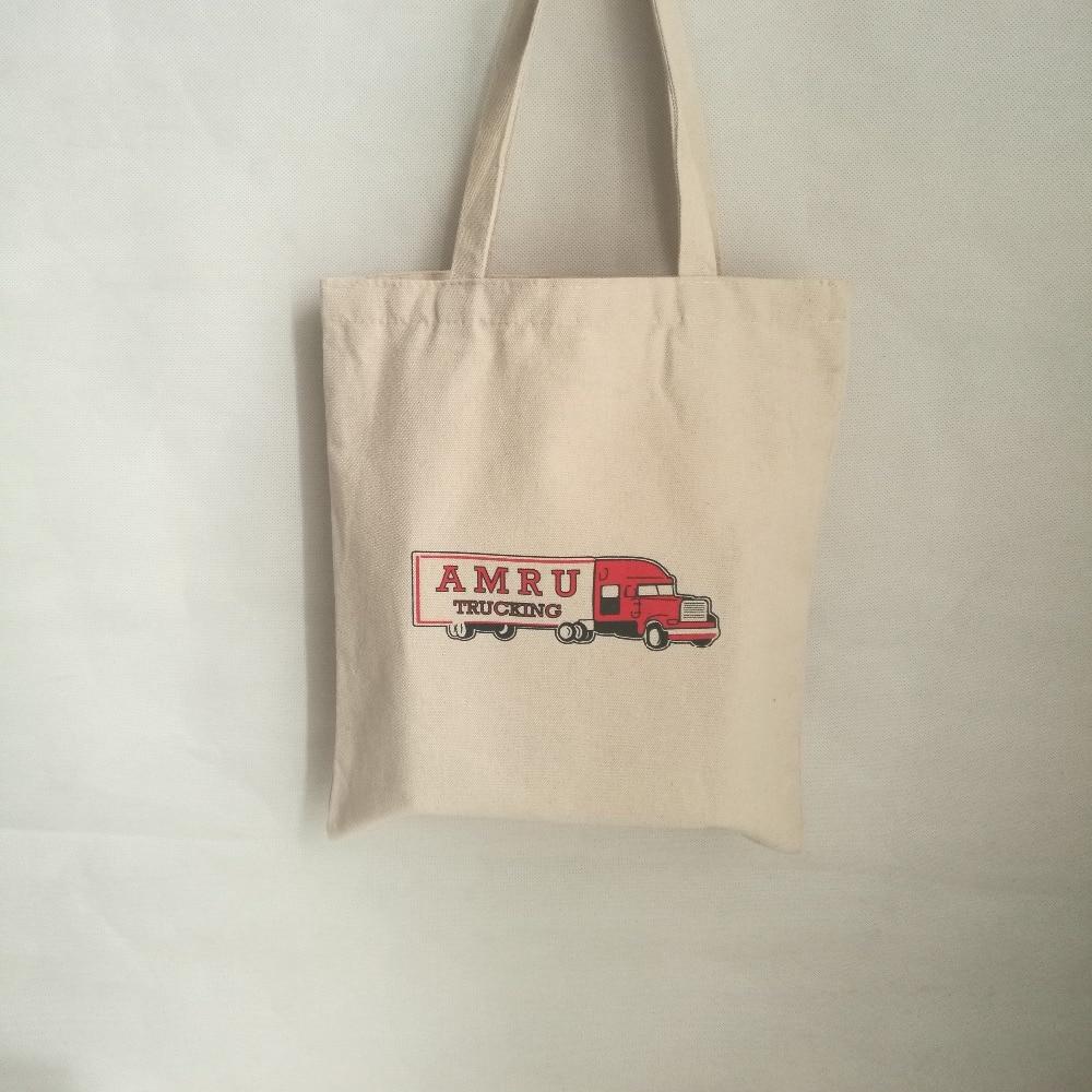 Wholesale 500pcs lot 35x40cm Custom durable calico Canvas cotton Shopping Bag Grocery Bags organic Cotton Fabirc