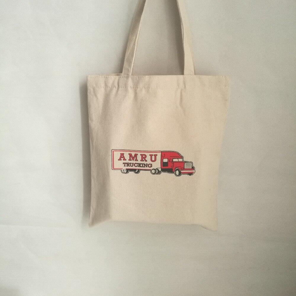 Hurtownie 500 sztuk/partia 35x40cm niestandardowe trwałe bawełniane płótno bawełniana torba na zakupy torby na zakupy z organicznej bawełny tkanina torba ekologiczna torba w Torby na zakupy od Bagaże i torby na  Grupa 1
