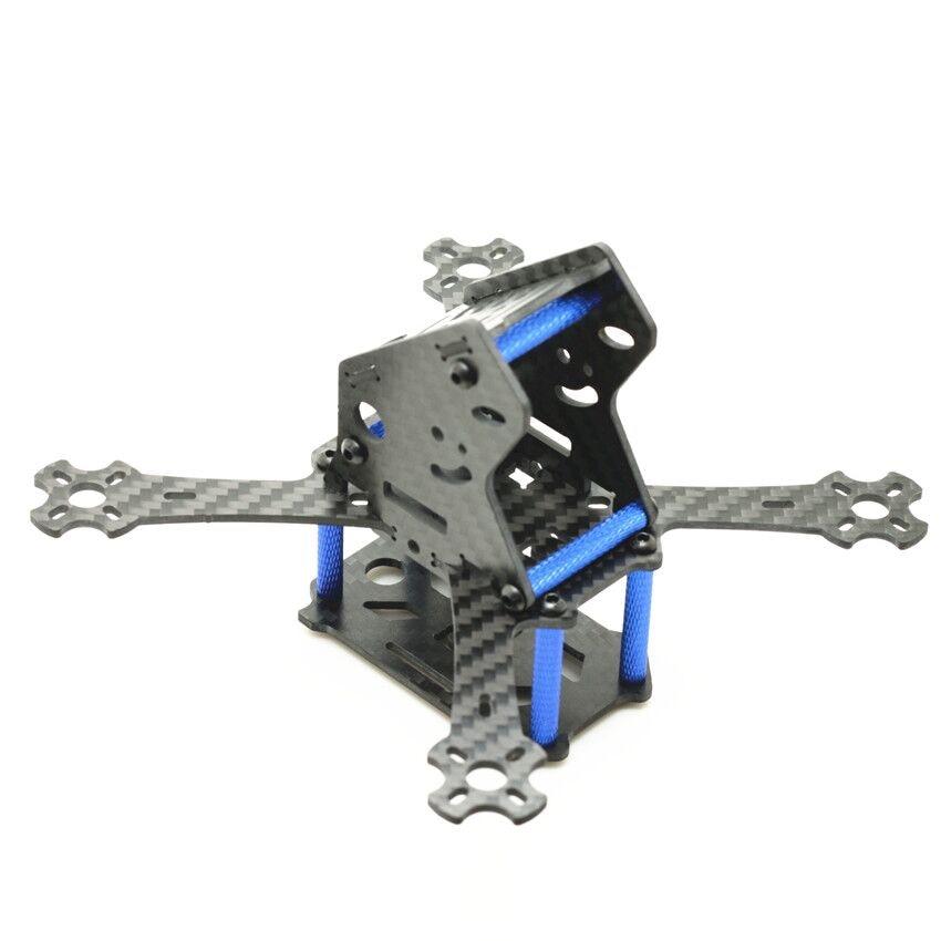 Mini Racing Drohne Kit Flugzeug QuadcopterPure carbonrahmen 143mm ...